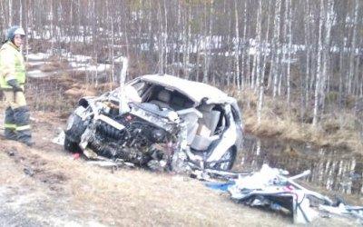 На трассе «Кола» в ДТП погиб водитель «Лифана»