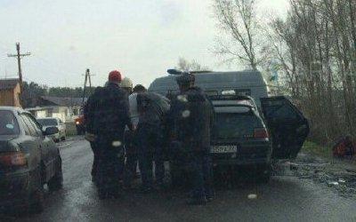 Семь человек пострадали в ДТП в Барнауле