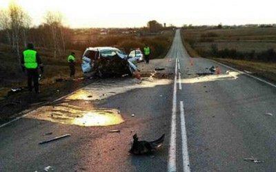Два человека погибли в ДТП в Красноярском крае