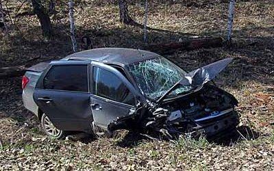В ДТП в Башкирии погибла пассажирка «Гранты»
