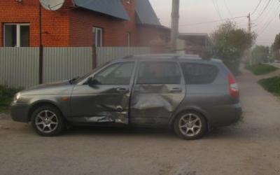 В Туле в ДТП пострадала 4-летняя девочка