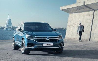 Новый Volkswagen Touareg: создан покорять!