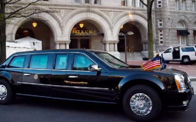 Американская пресса сравнивает лимузины Путина и Трампа: чей же круче?
