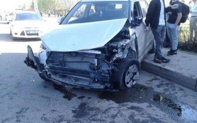 В Челнах водитель протаранил более 10 автомобилей и сбил пешехода