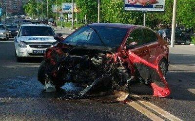 Два человека пострадали в массовом ДТП в Туле