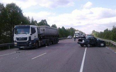 Водитель «Приоры» погиб в ДТП на трассе «Дон» в Тульской области