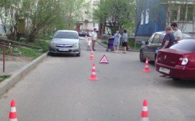 В Вологде автомобиль сбил ребенка на велосипеде