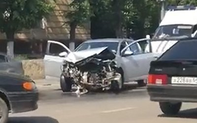 Женщина пострадала в ДТП на Чернышевского в Саратове