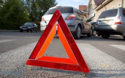 В Сыктывкаре иномарка сбила пьяного пешехода на переходе