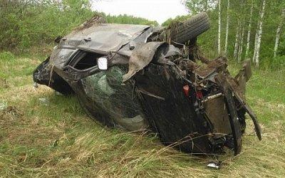 20-летняя девушка-водитель погибла в ДТП в Лукояновском районе