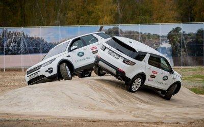 Jaguar Land Rover приглашает на курсы экстремального вождения
