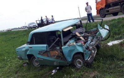 Молодая женщина погибла в ДТП в Татарстане