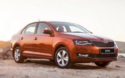 SKODA Rapid вошел в ТОП-10 самых продаваемых автомобилей в России