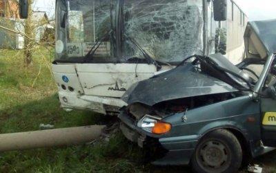 В Кемерове в ДТП с автобусом погиб человек
