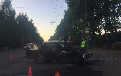 Женщина и ребенок пострадали в ДТП в Кирове