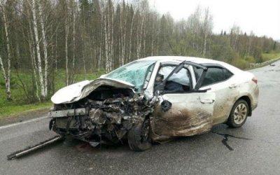 В ДТП в Яшкинском районе Кемеровской области погибли два человека