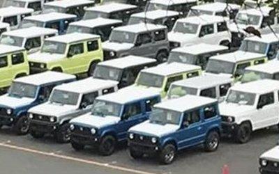 Новый Suzuki Jimny заснят японскими шпионами и выложен в Сеть