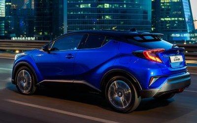 Стали известны дата начала продаж и стартовые цены на Toyota C-HR в России