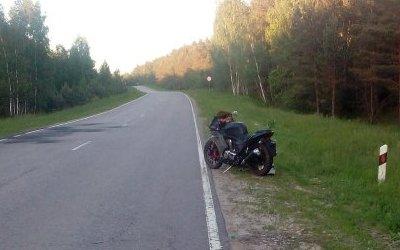 22-летний мотоциклист пострадал в ДТП в Тульской области