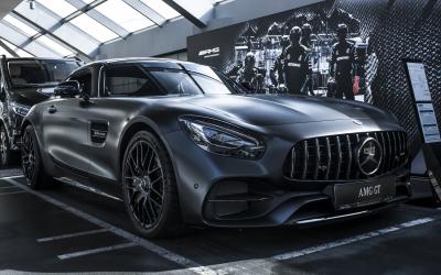 Mercedes-AMG GT C 50th Edition – передовые технологии и экспрессивный дизайн