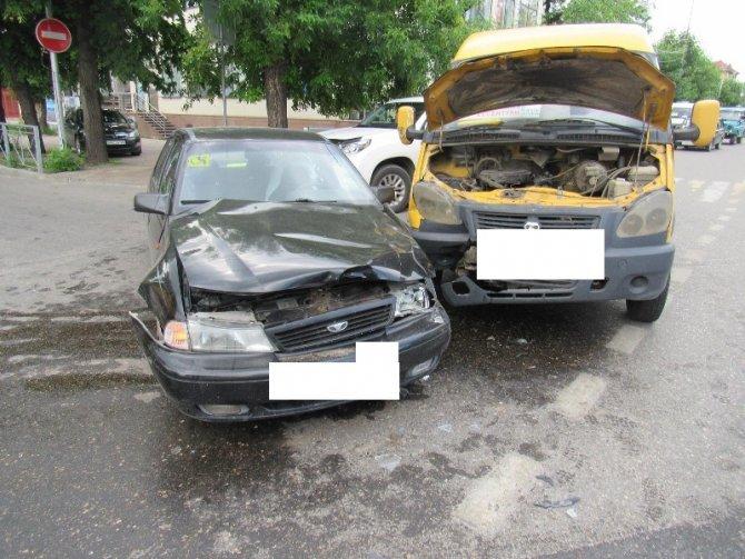 Женщина пострадала в ДТП с маршруткой в Ессентуках