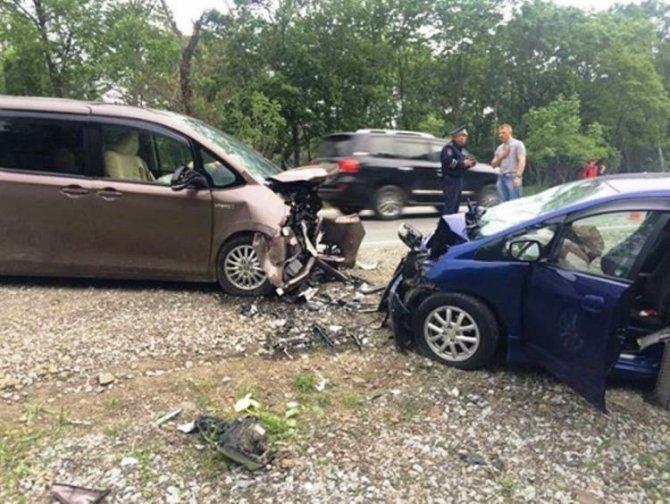 Один человек погиб и 6 пострадали в ДТП в Приморье (1)