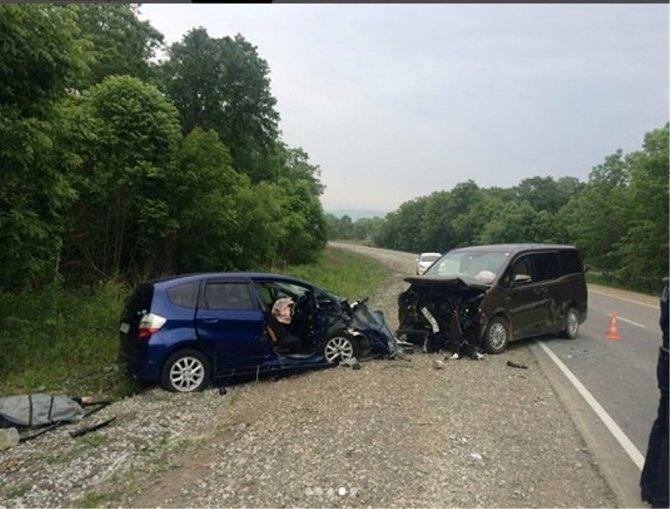 Один человек погиб и 6 пострадали в ДТП в Приморье (2)