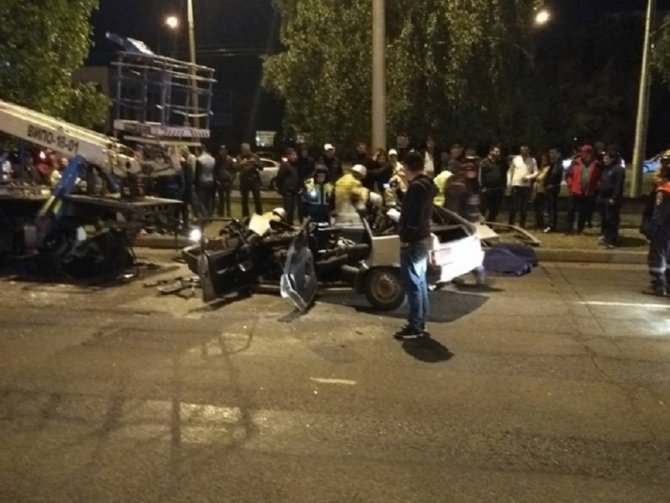 В Татарстане в ДТП с автовышкой молодому человеку оторвало голову (2)
