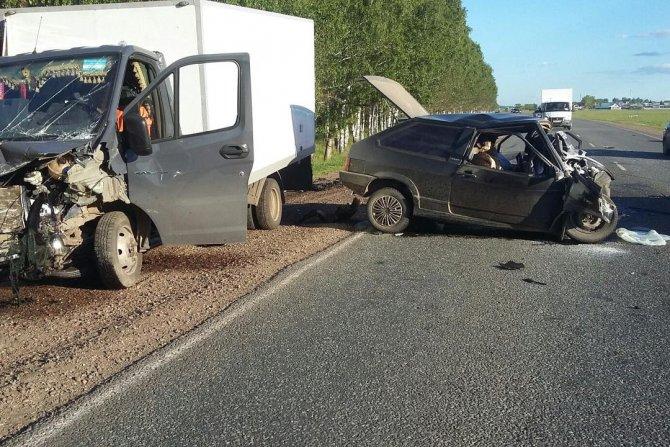 Два человека погибли в ДТП в Мелеузовском районе Башкирии