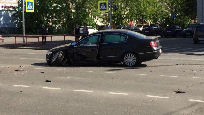 Женщина серьезно пострадала в ДТП в Рыбинске (1)