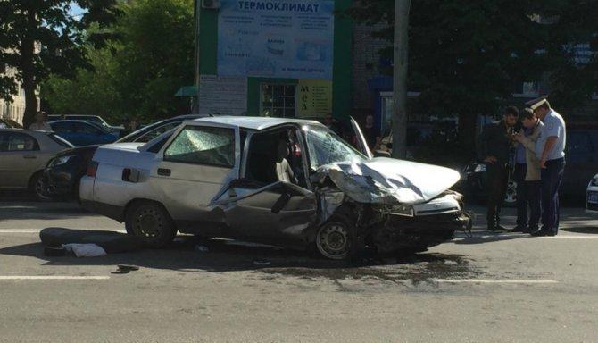 Женщина серьезно пострадала в ДТП в Рыбинске (2)