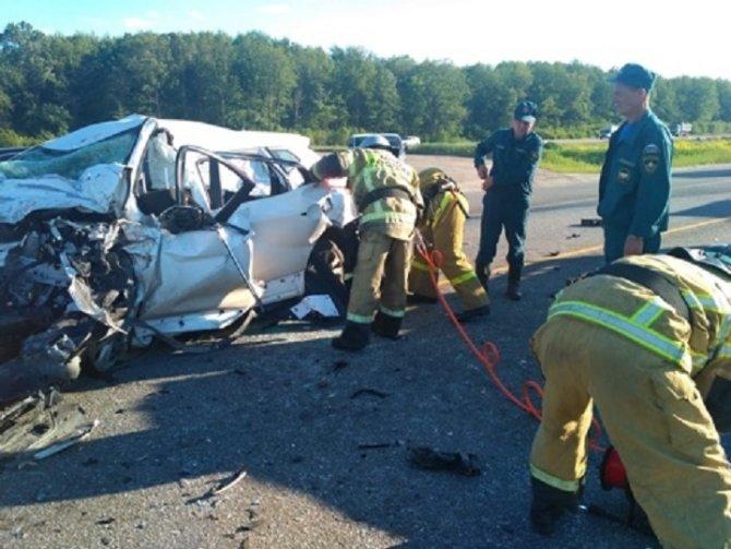 Два человека погибли в ДТП в Пестречинском районе Татарстана (2)