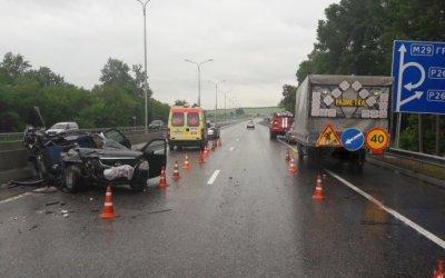 Трое, включая ребенка, погибли в ДТП под Пятигорском