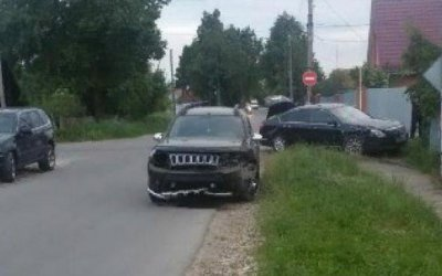 4-летняя девочка пострадала в ДТП в Киреевске