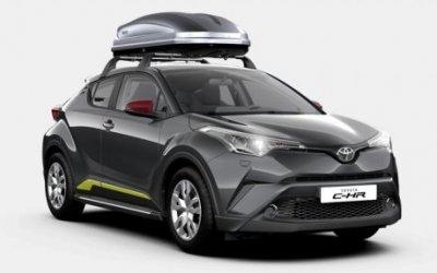 Что мы ещё не знали о новом Toyota C-HR: всё о комплектациях и ценах
