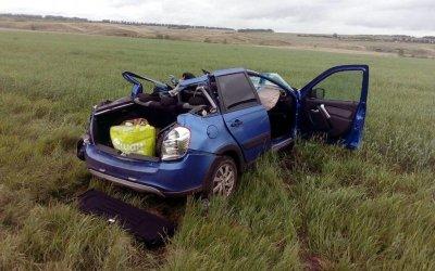 В ДТП в Башкирии у «Лады» оторвало крышу – водитель погиб