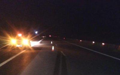 Иномарка насмерть сбила мужчину на трассе М-4 в Тульской области