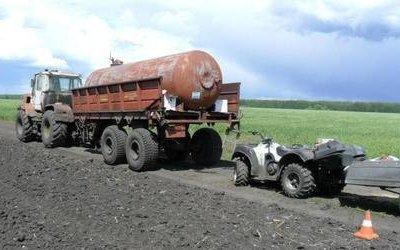В ДТП с квадроциклом в Тамбовской области погиб человек