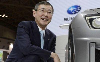 Глава Subaru подал в оставку из-за фальсификаций о вредных выбросах