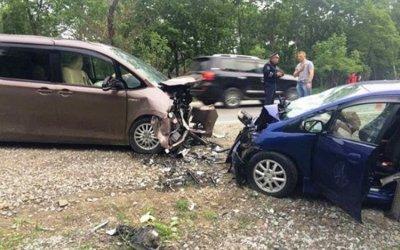 Один человек погиб и 6 пострадали в ДТП в Приморье