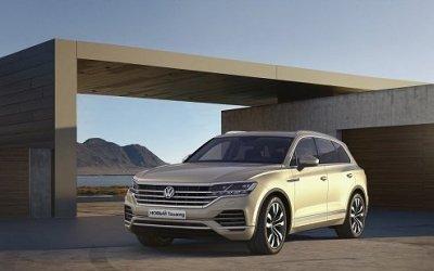 Встречайте новое поколение легендарного Volkswagen Touareg