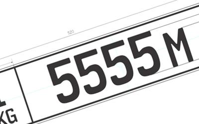 Новые автомобильные номера для россиян ввели в Киргизии