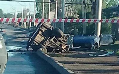 В Уфе ВАЗ разорвало на части – один человек погиб