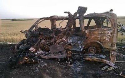 В ДТП с микроавтобусом под Славянском-на-Кубани погибли люди