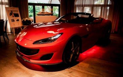 Авилон представил Ferrari Portofino в Москве