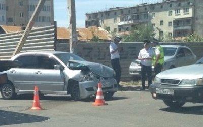 Мать с сыном пострадали в ДТП в Астрахани