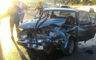 Пятеро детей пострадали под Новороссийском из-за ДТП с несовершеннолетним водителем