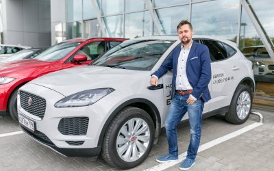 «АВИЛОН» познакомил с новым Jaguar E-PACE  в рамках закрытой ночи продаж.