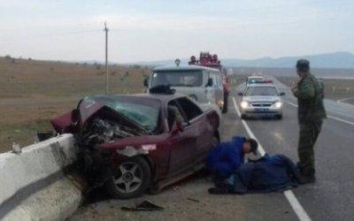В Бурятии в ДТП погибли три человека