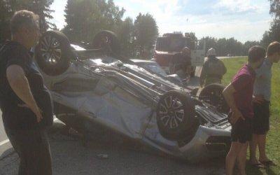 ДТП с пострадавшими на трассе Ярославль – Кострома